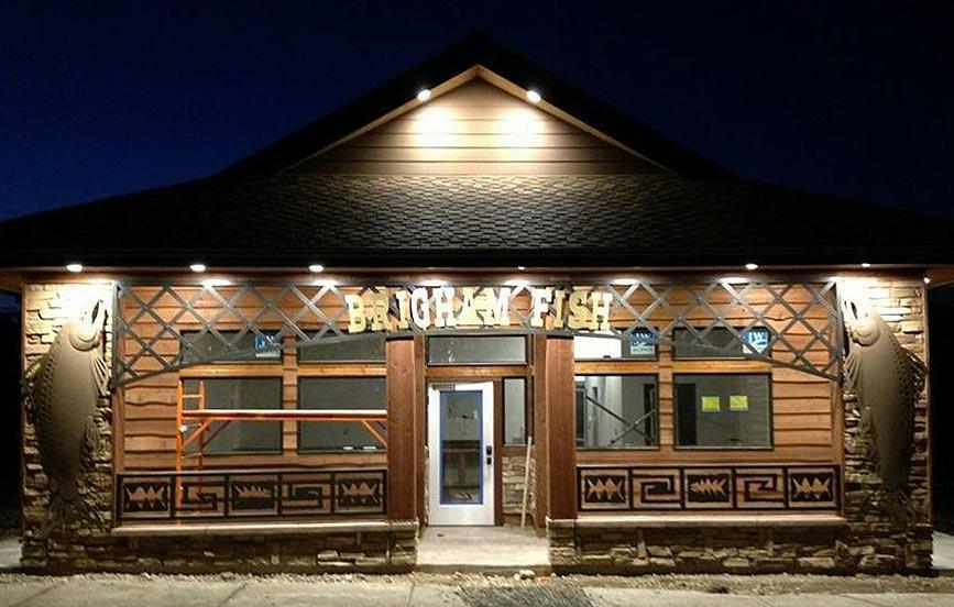Storefront Brigham Fish Market
